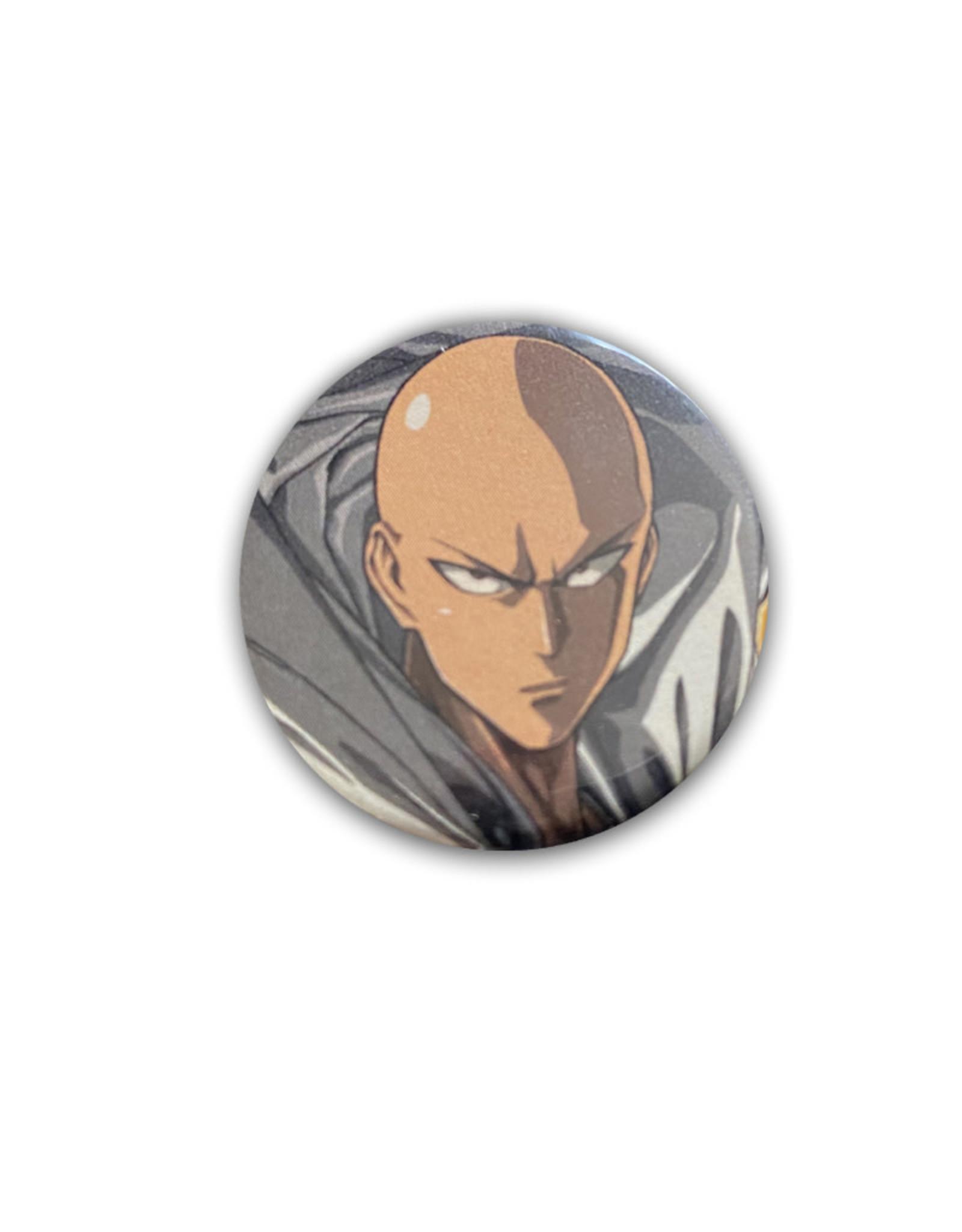 One Punch Man ( Button ) Saitama Serious