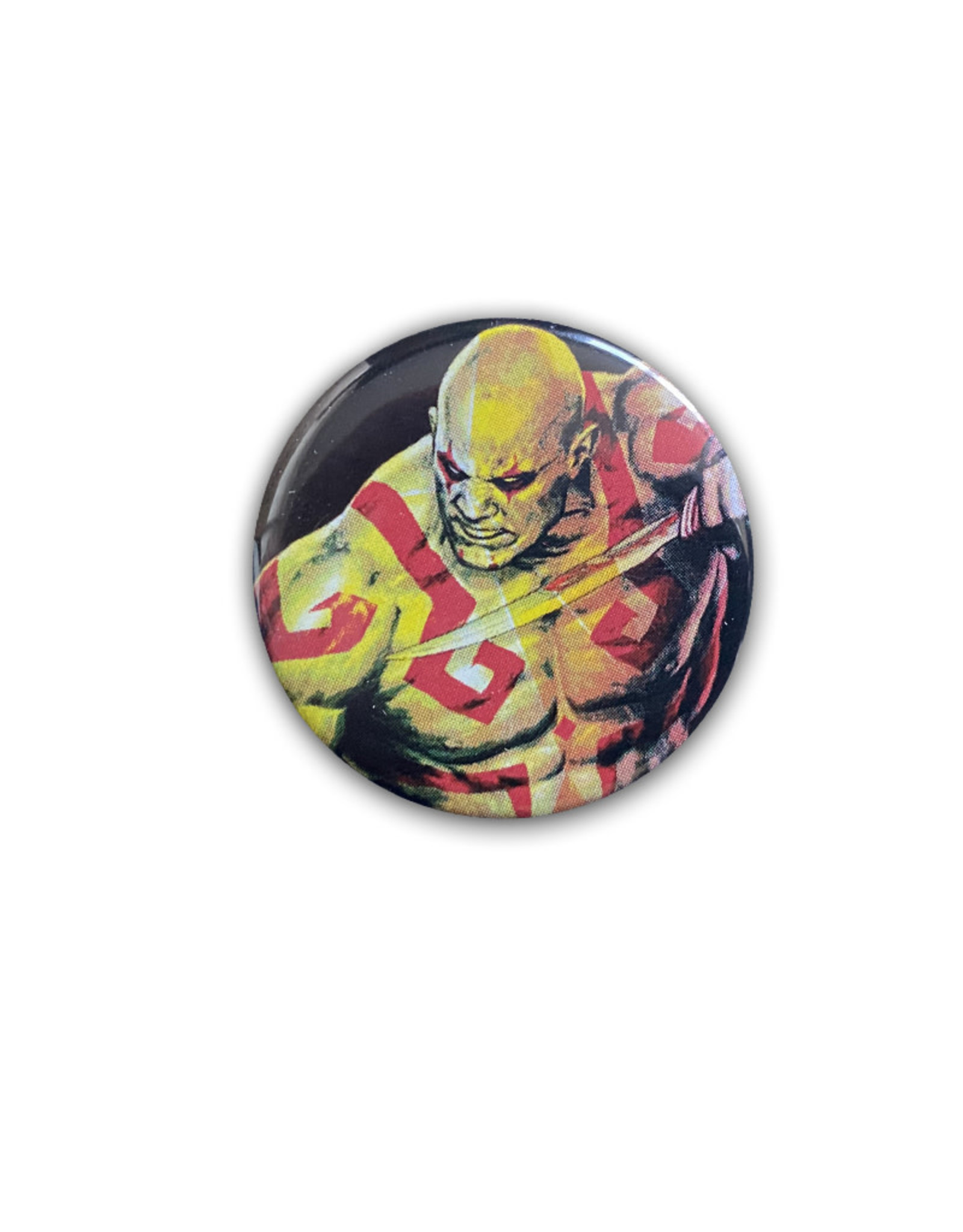 Marvel Marvel ( Button ) Gardians of the Galaxy Drax