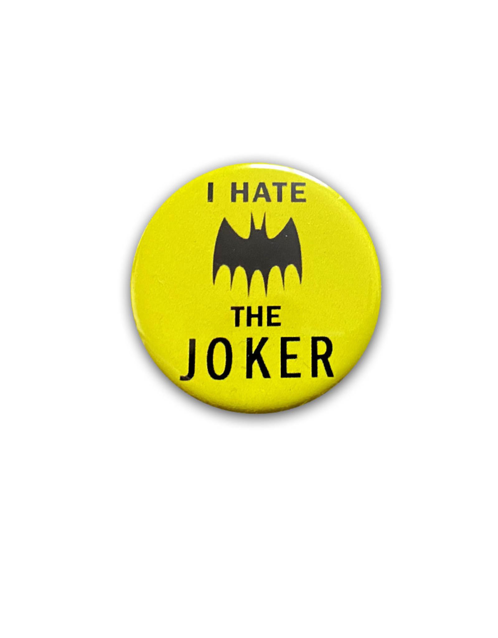 Dc comics Dc Comics ( Macaron ) I Hate the Joker