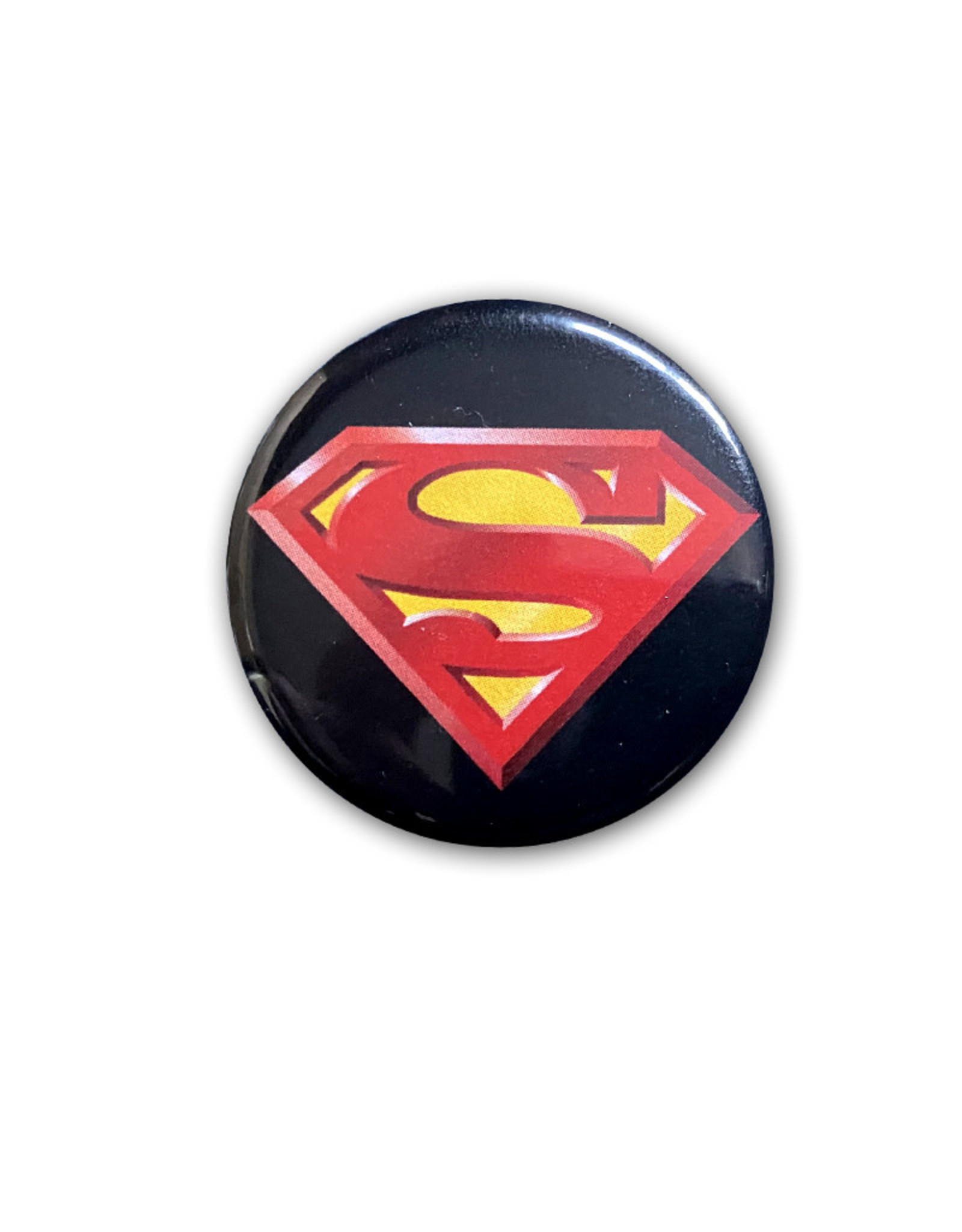 Dc comics Dc Comics ( Button ) Superman Logo on Black