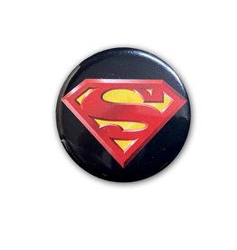 Dc comics Dc Comics ( Button ) Superman Logo on Black