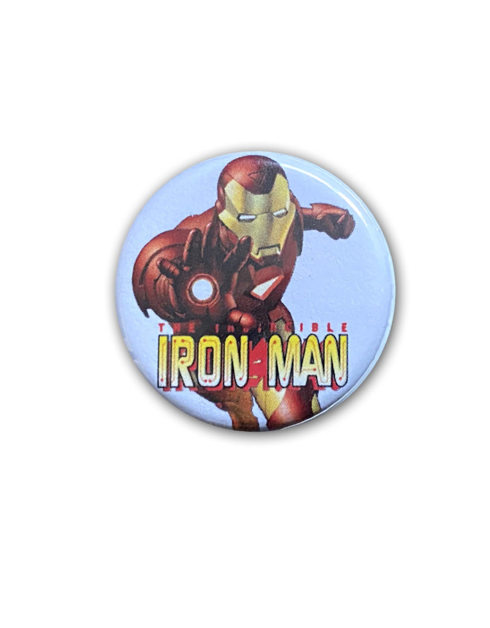 Marvel Marvel ( Button ) Iron Man