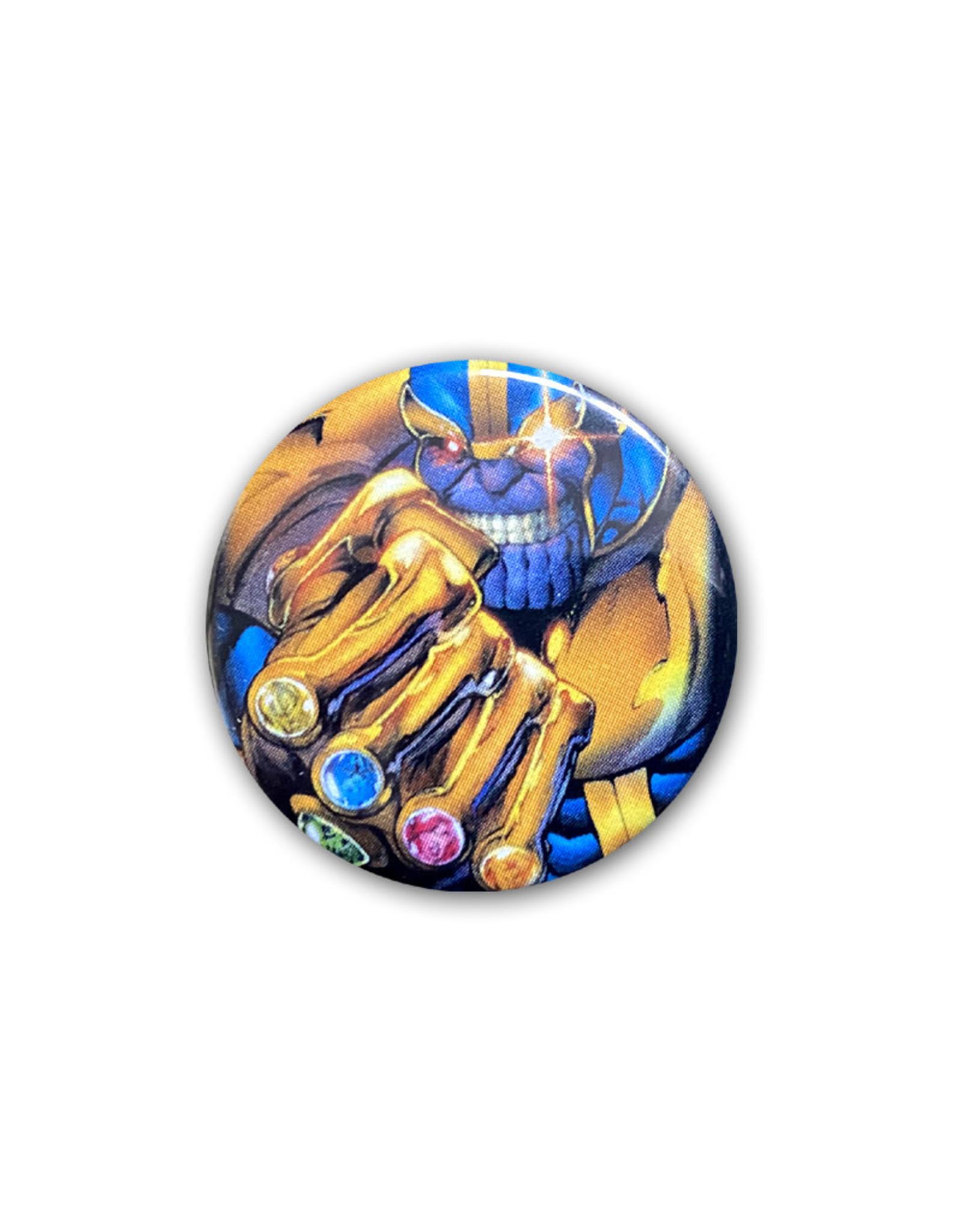 Marvel Marvel ( Button ) Thanos