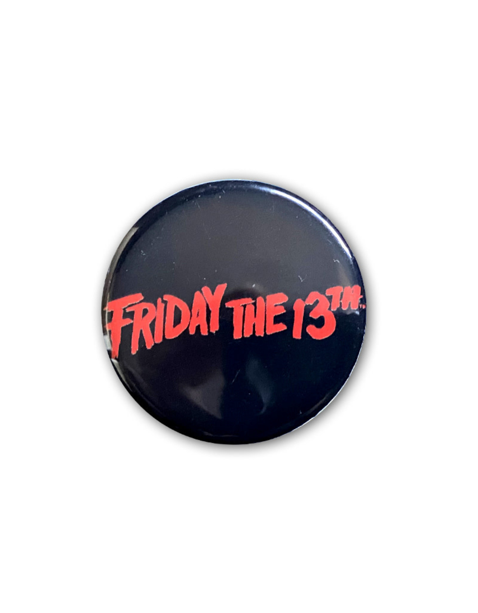 Friday The 13th ( Button ) Logo
