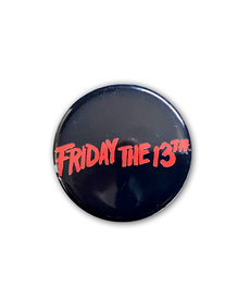 Friday The 13th ( Button ) Logo