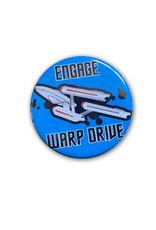 Star Trek ( Button ) Engage Warp Drive