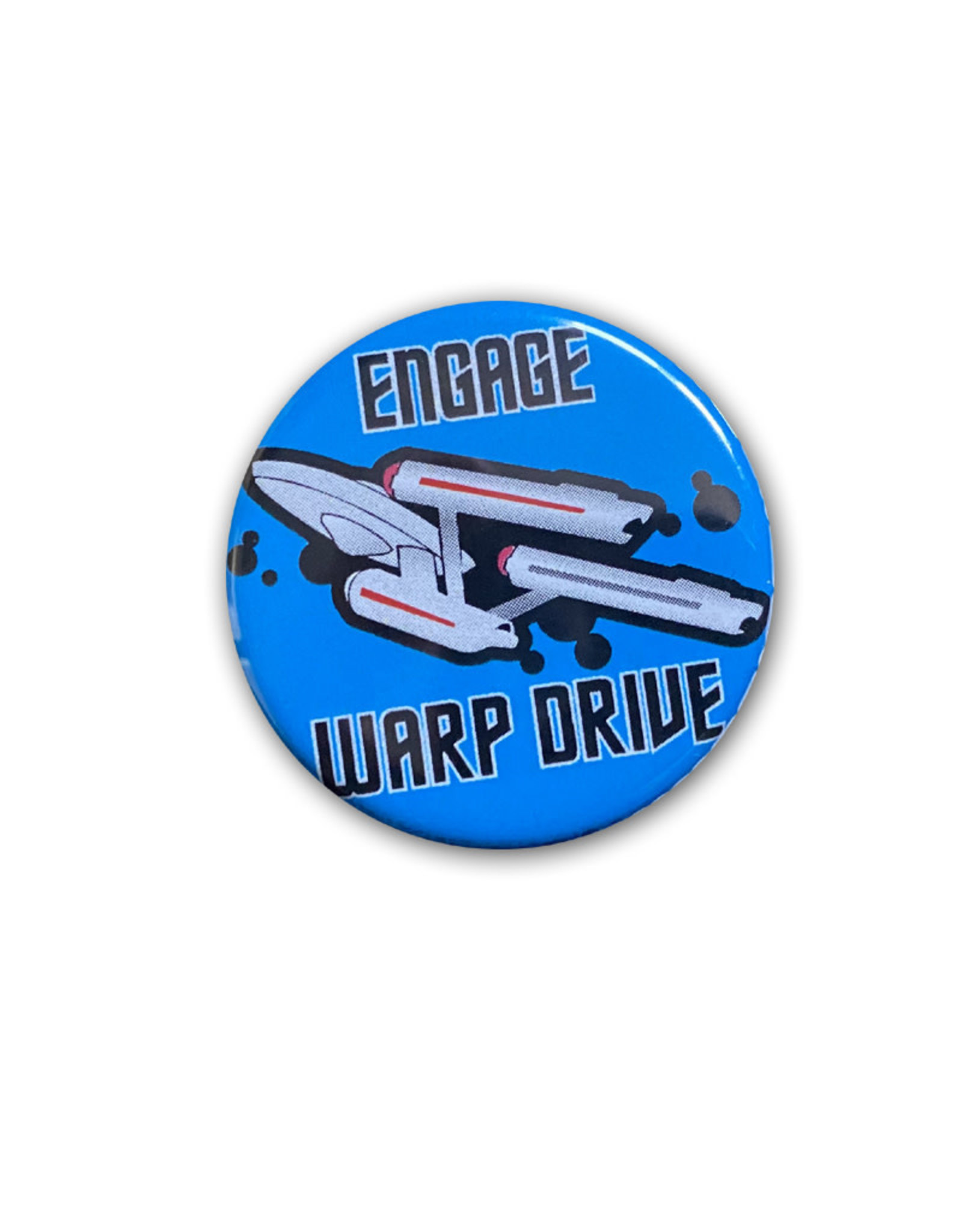 Star Trek ( Button ) Engage Warp Drive
