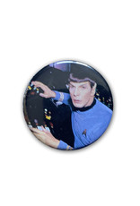 Star Trek ( Button ) Spock at Controls