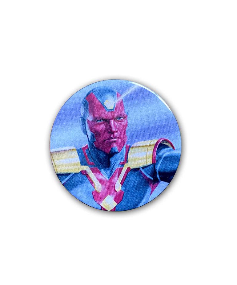 Marvel Marvel ( Button ) Vision