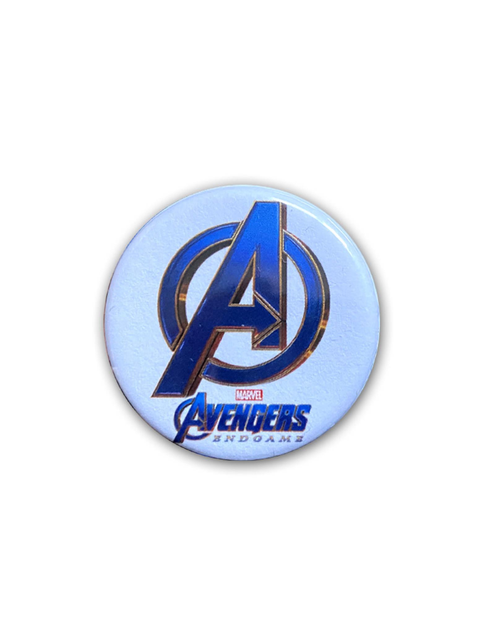 Marvel Marvel ( Button ) Endgame Avengers Logo