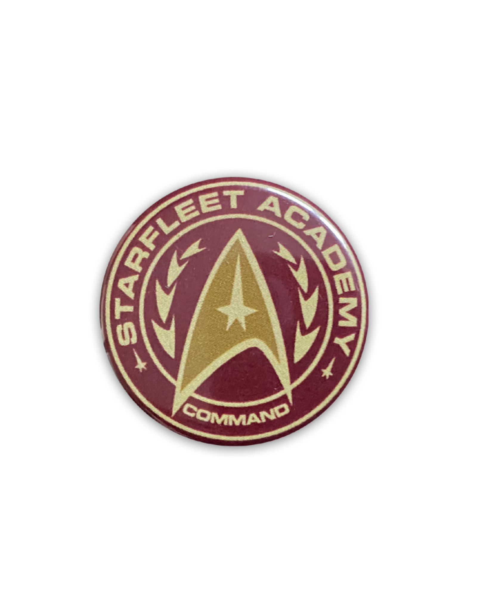 Star Trek ( Button )  Starfleet Academy Command