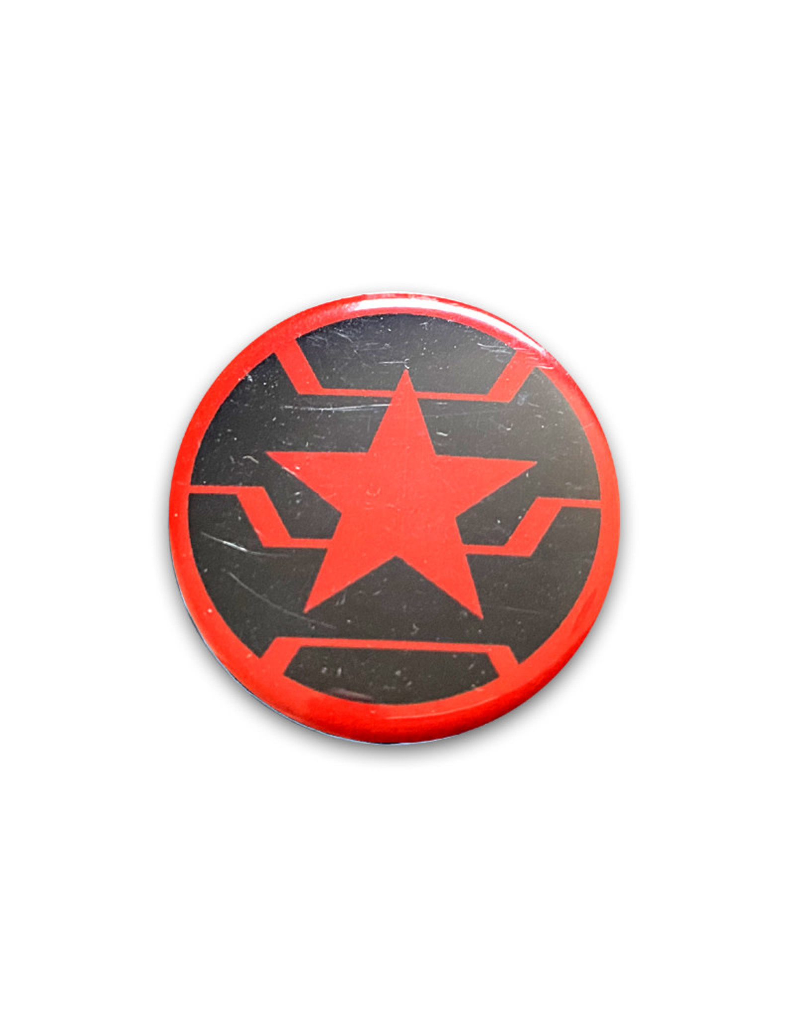 Marvel Marvel ( Button ) Winter Soldier Logo