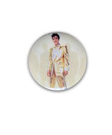 Elvis Elvis Presley ( Button ) Gold