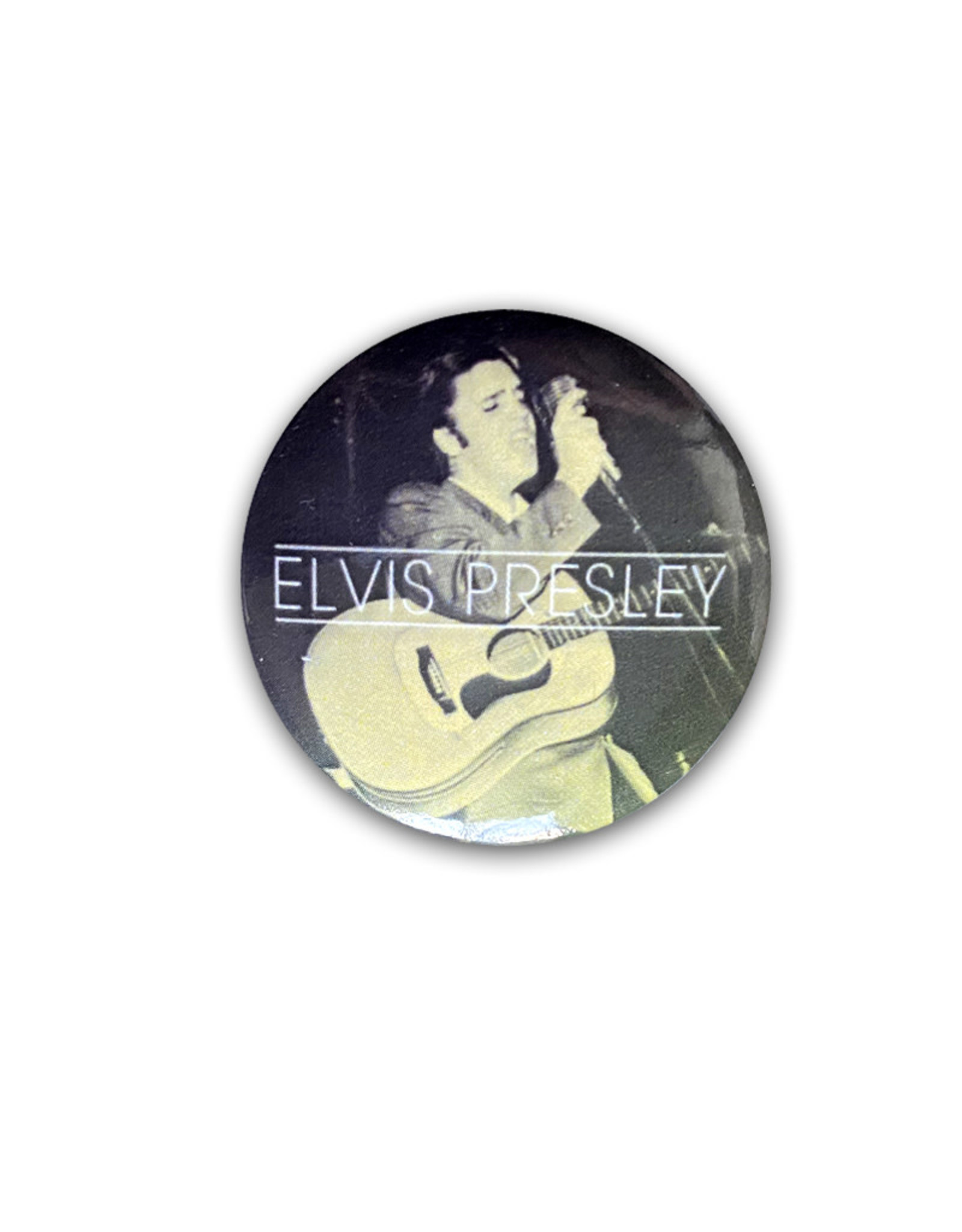 Elvis Elvis Presley ( Button ) Hound Dog