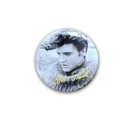 Elvis Elvis Presley ( Macaron ) Décontracté