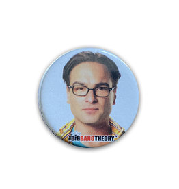 Bing Bang Theory ( Button ) Leonard Hofstadter