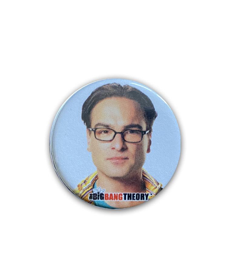Bing Bang Theory ( Button ) Leonard Hofstadter