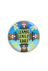 Llama ( Button ) Cool