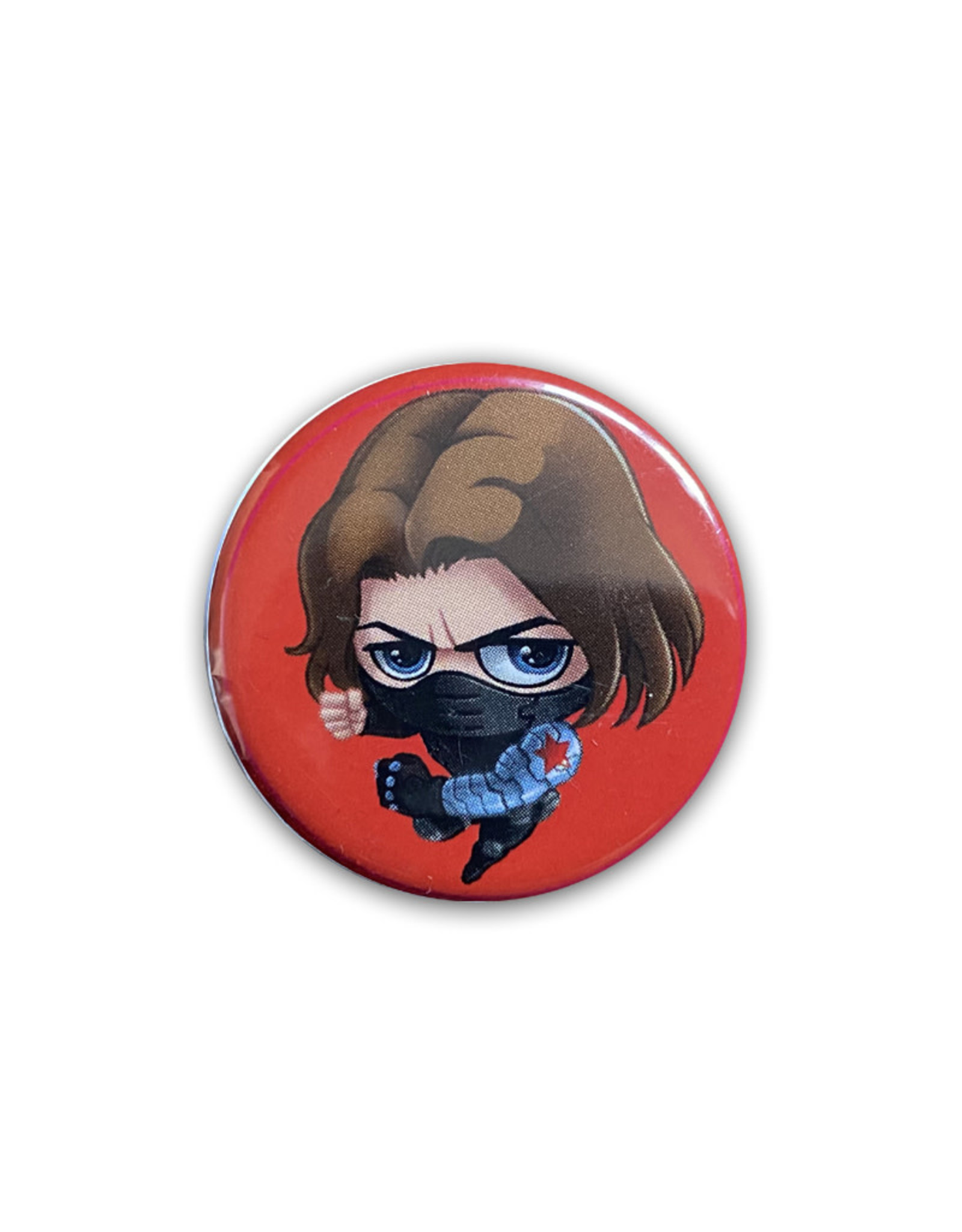 Marvel Marvel ( Button ) Bucky Barnes Chibi