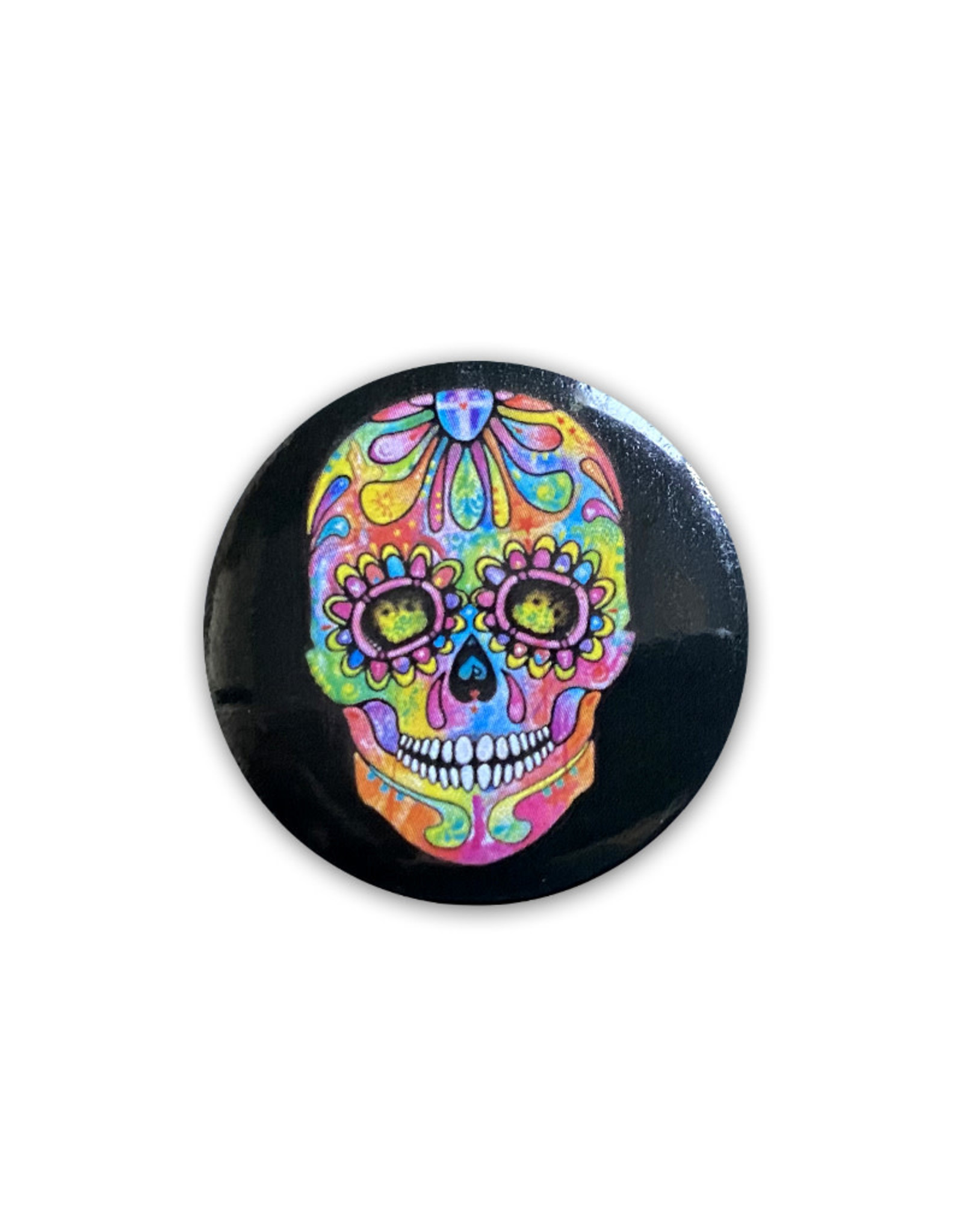 Skull ( Button ) La Muerte