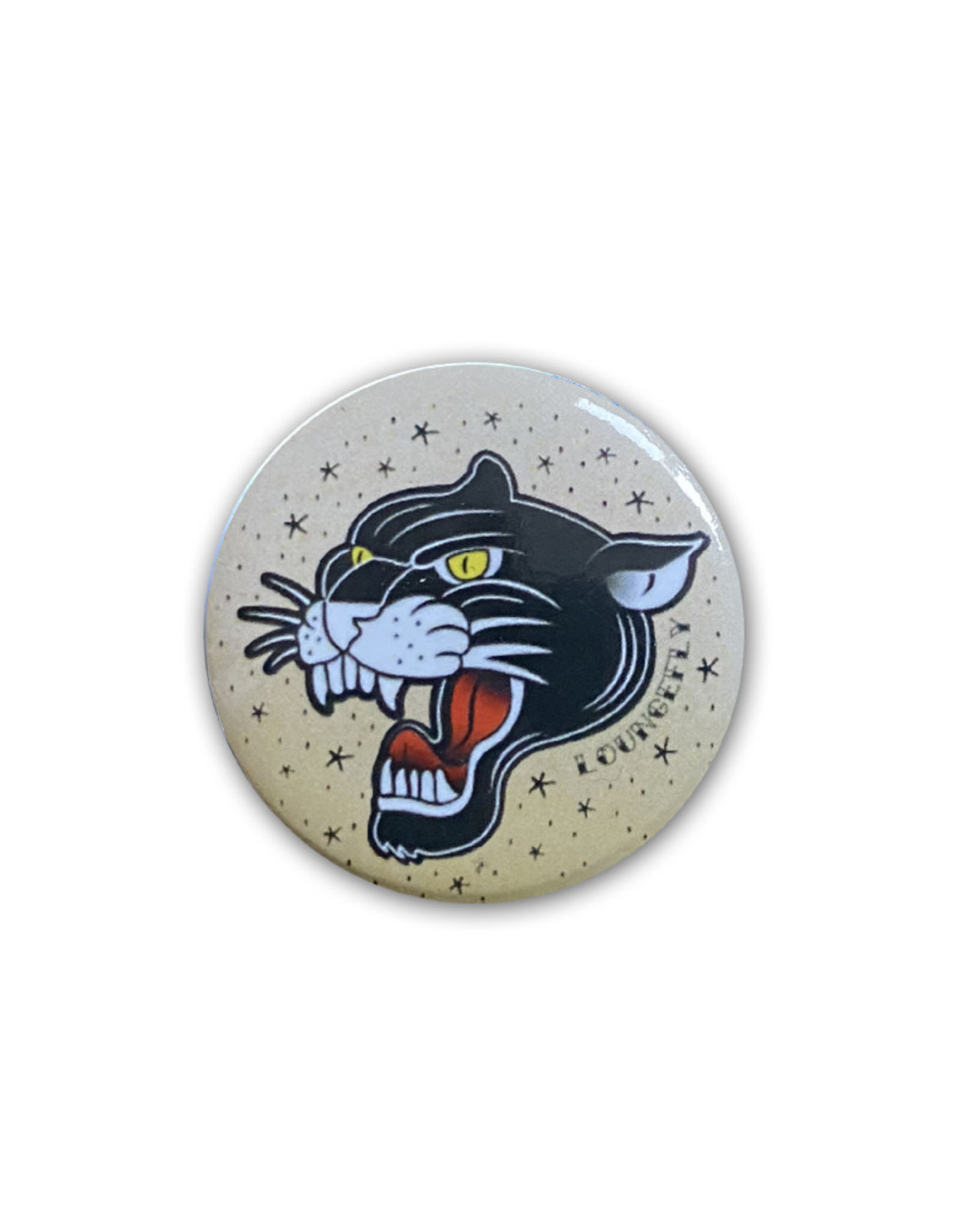Black Panther  ( Button )