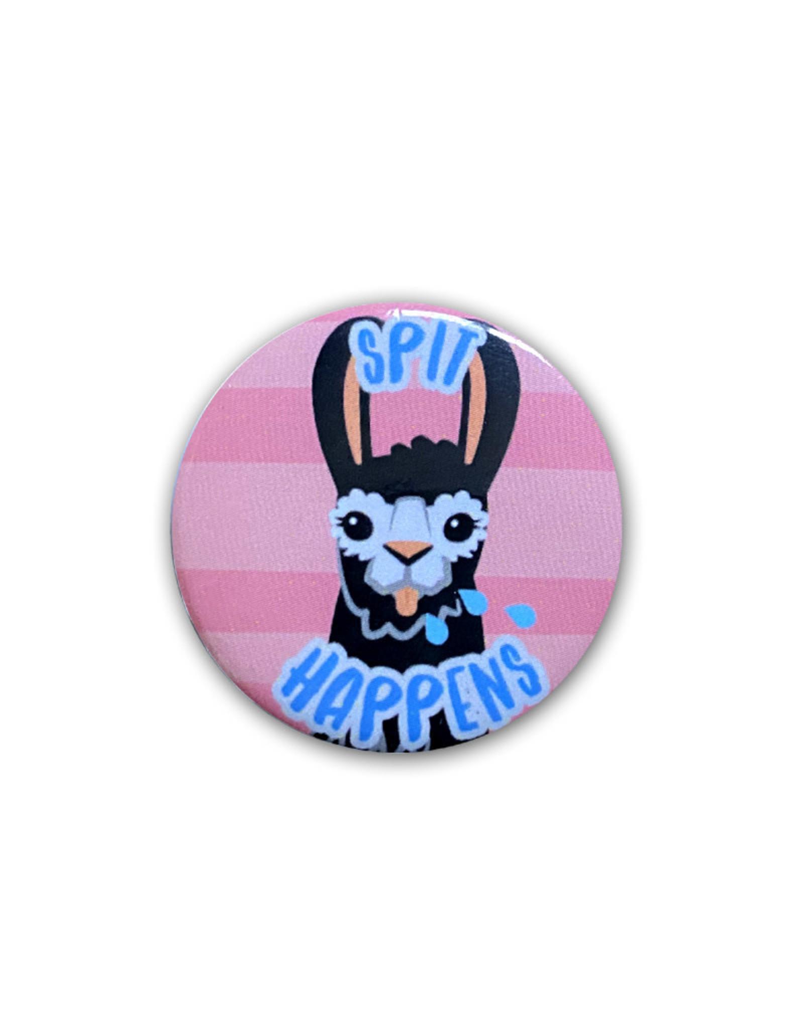 Llama ( Button ) Spit Happens