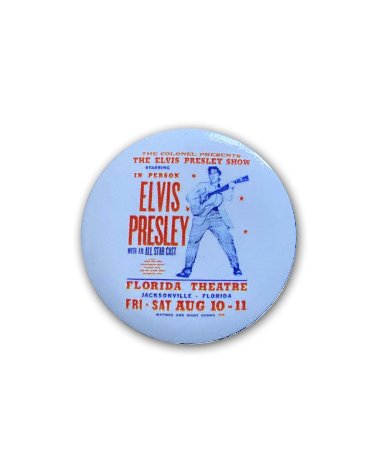 Elvis Elvis Presley ( Button ) Live Show