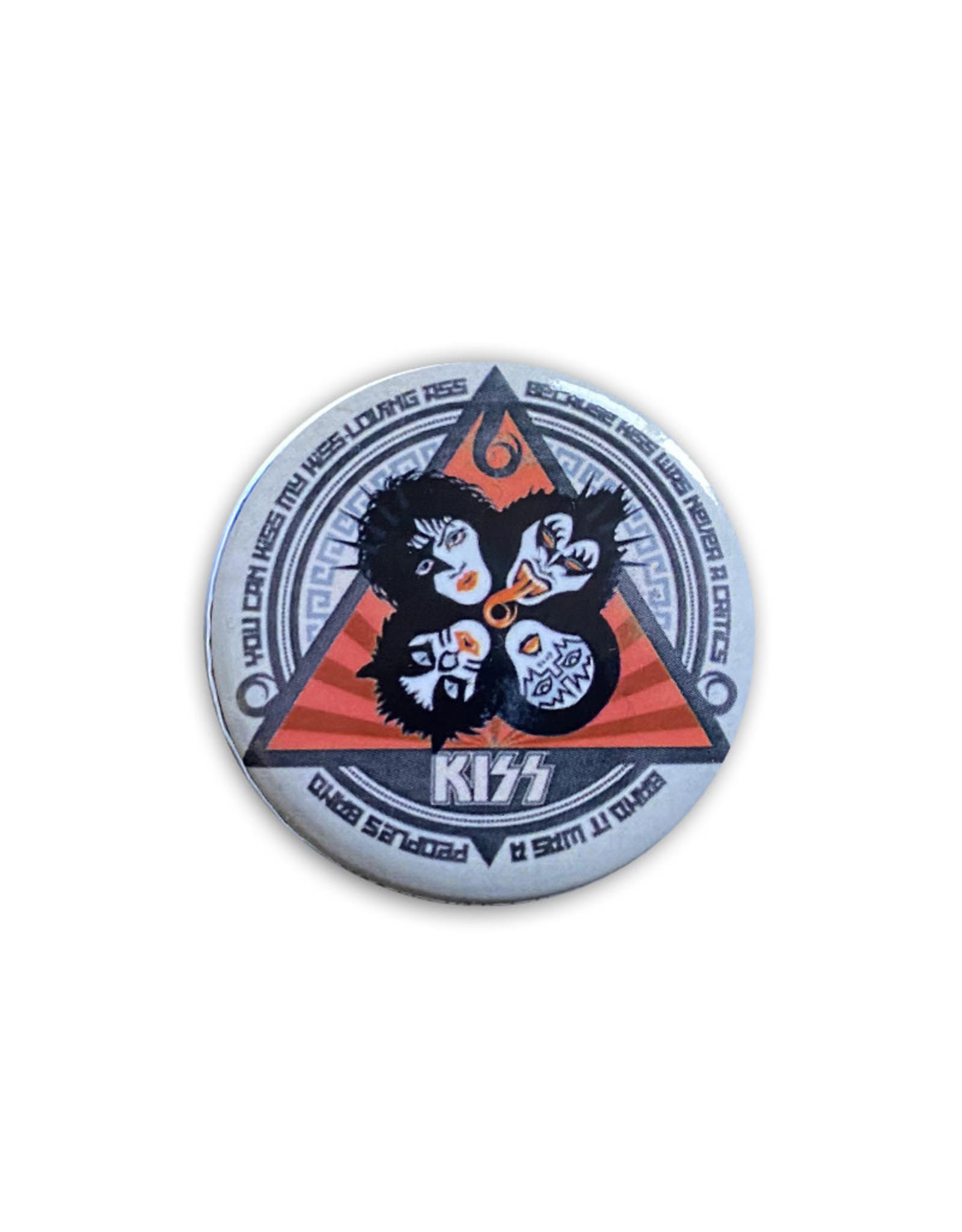 Kiss ( Button ) Kiss Cartoon