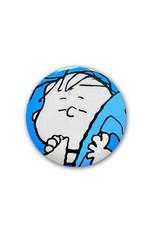 Charlie Brown ( Button ) Linus Van Pelt