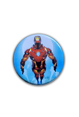 Marvel Marvel ( Button ) Iron Man in the Sky