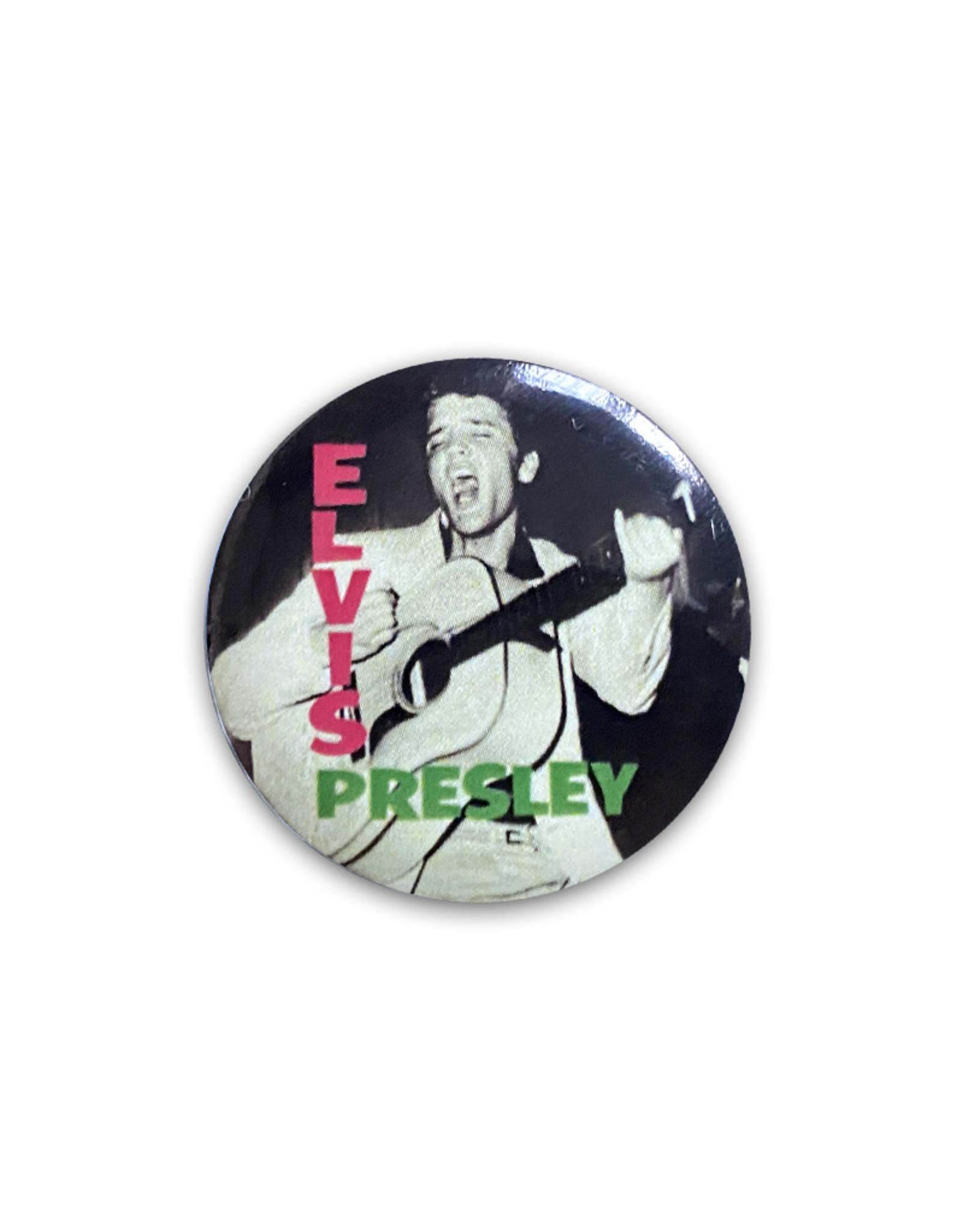 Elvis Elvis Presley ( Button ) First Album