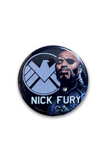 Marvel Marvel ( Button ) Nick Fury
