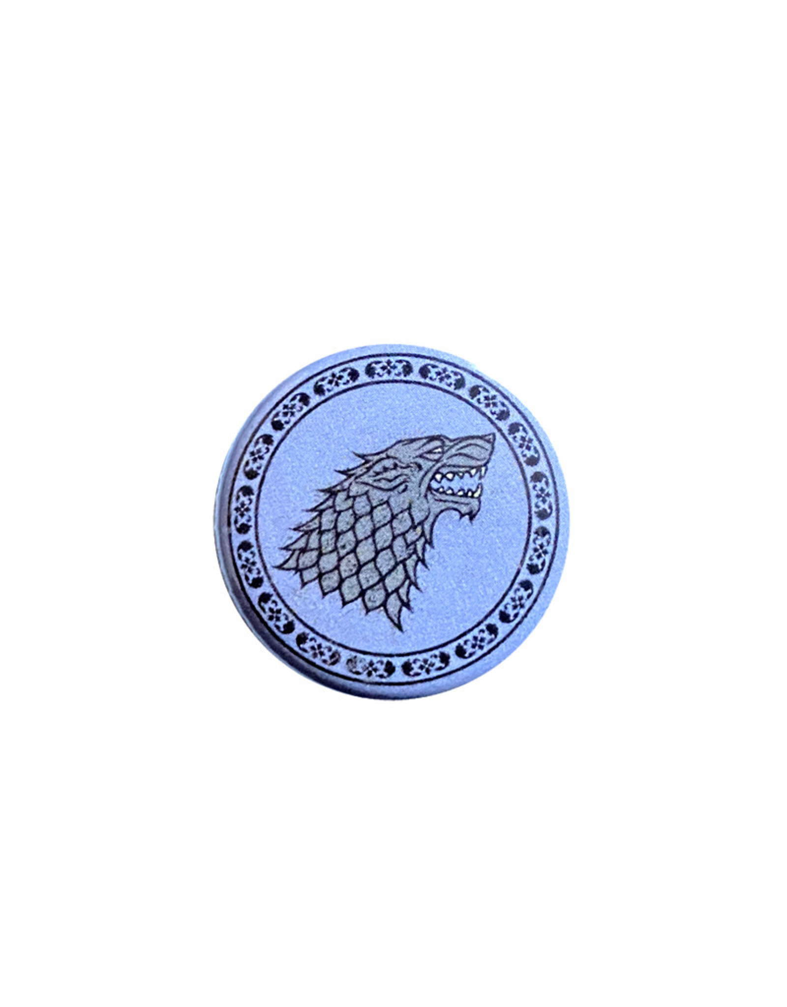Game of thrones Game of Thrones ( Mini Button ) Stark Crest