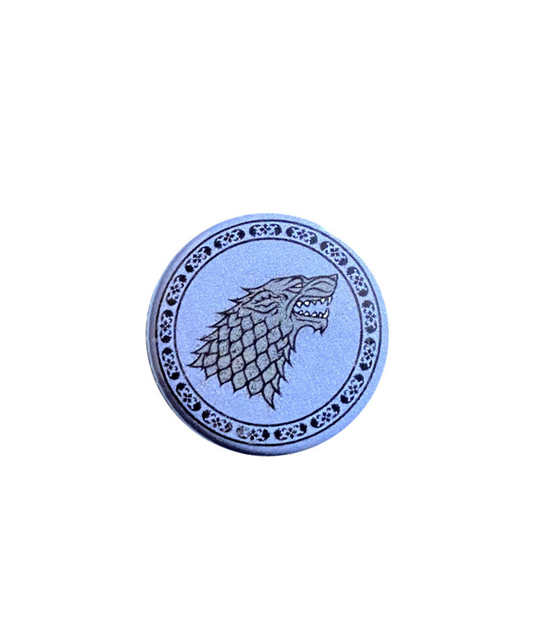 Game of thrones Game of Thrones ( Mini Button ) Stark Crest
