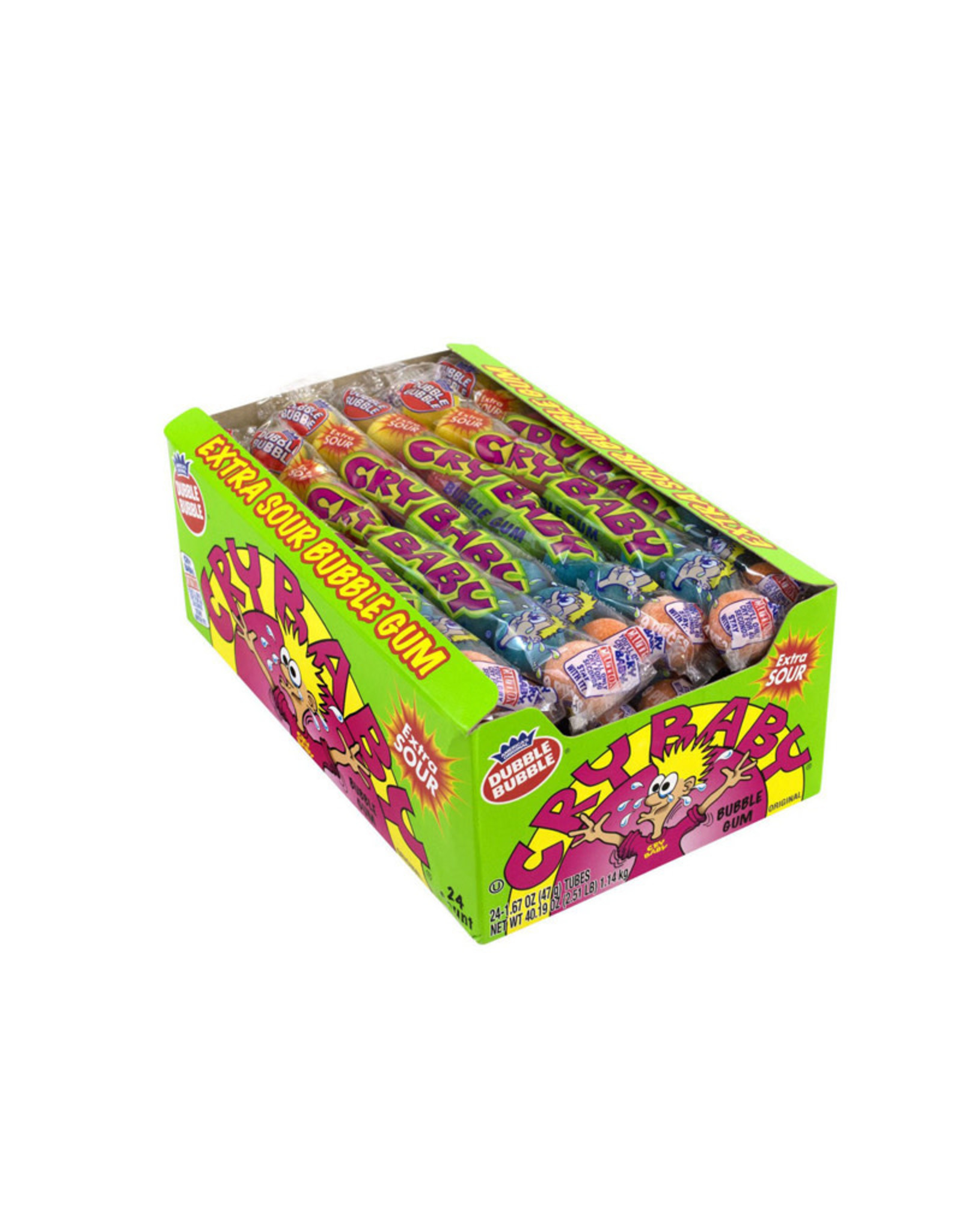 Hubble Bubble ( Cry Baby ) Extra Sour Gum