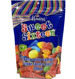 Sweet Sixteen ( Mondoux 400g. ) Sweet and Sour Gummy