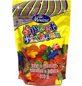 Sweet Sixteen ( Mondoux 400g. ) Mixed Gummy