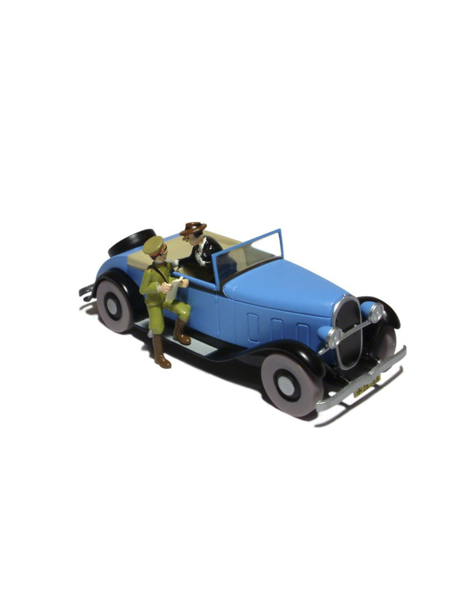 Tintin Tintin ( Collectible Car )The convertible of Blue Lotus