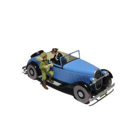 Tintin Tintin ( Voiture de Collection ) La décapotable du Lotus bleu