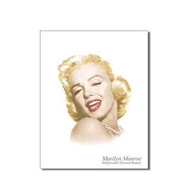 Marilyn Monroe Marilyn Monroe ( Affiche de Métal 12.5 X 16 ) Beauté Éternelle