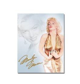 Marilyn Monroe Marilyn Monroe ( Affiche de Métal 12.5 X 16 )