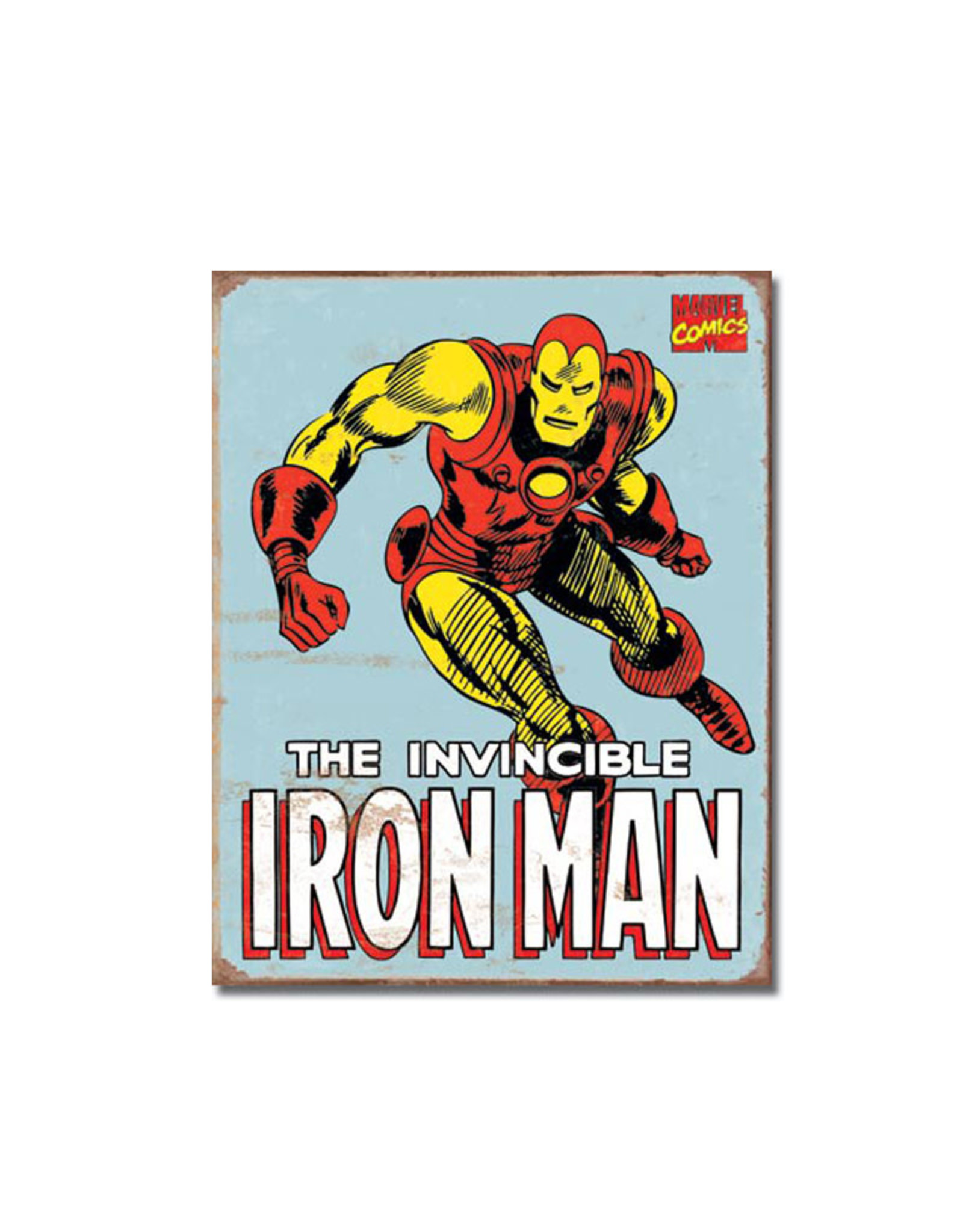 Marvel Marvel ( Metal Sign 12.5 X 16 ) Iron Man