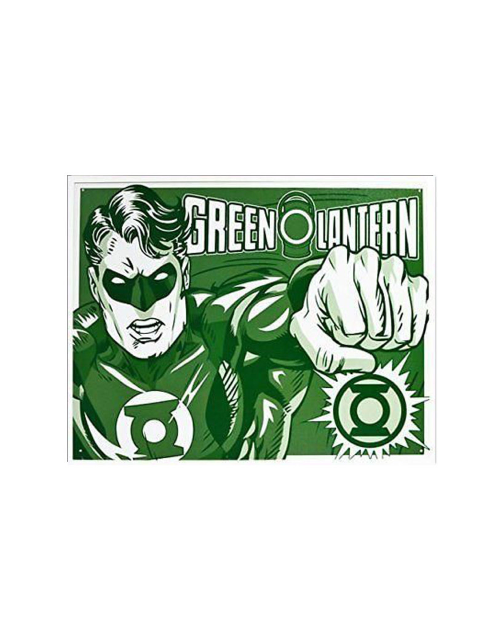 Dc comics Dc Comics ( Metal Sign 12.5 X 16 ) Green Lantern