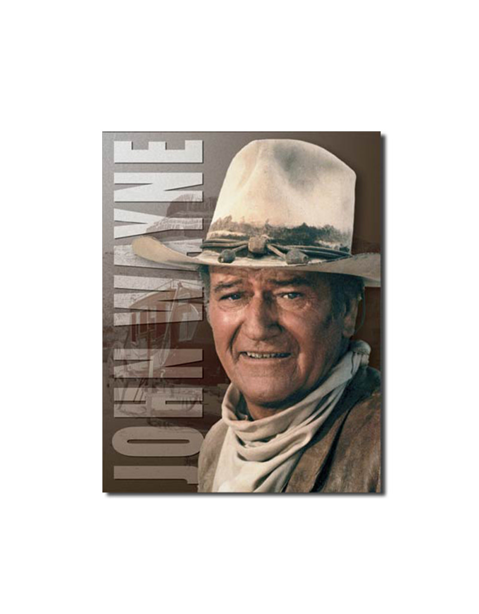 John Wayne ( Metal Sign 12.5 X 16 )