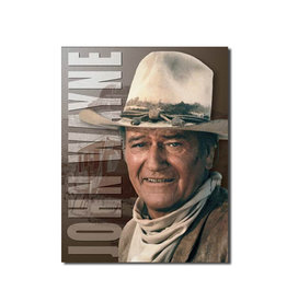 John Wayne ( Affiche de Métal 12.5 X 16 )