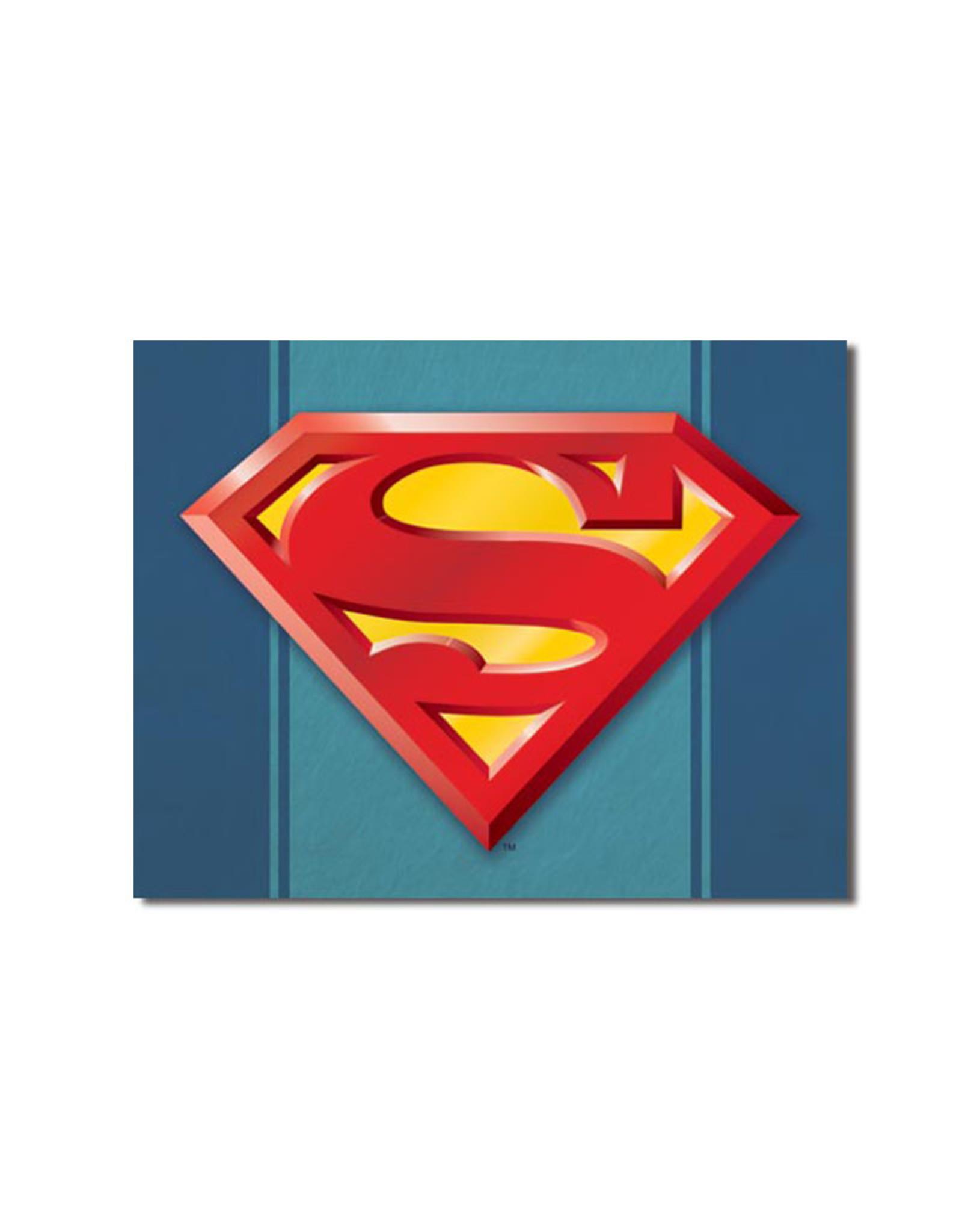 Dc comics Dc Comics ( Metal Sign 12.5 X 16 ) Logo Superman