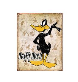 Looney Tunes ( Metal Sign 12.5 X 16 ) Daffy Duck