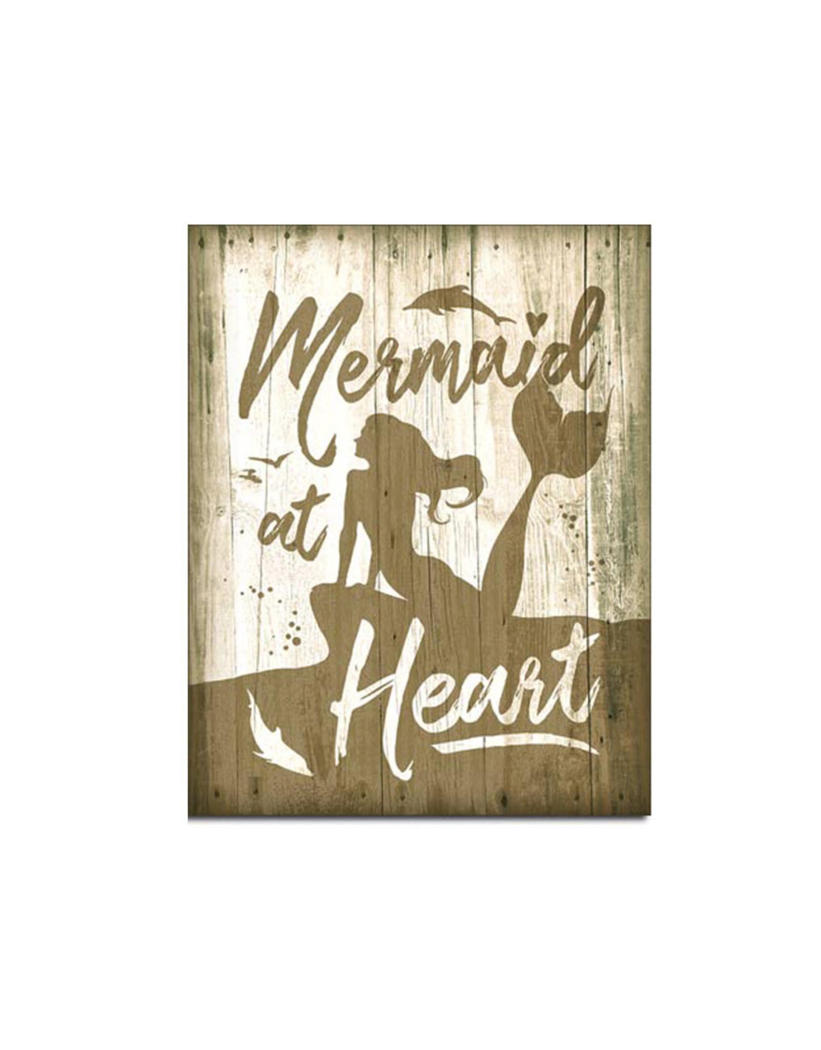 Mermaid ( Metal Sign 12.5 X 16 )