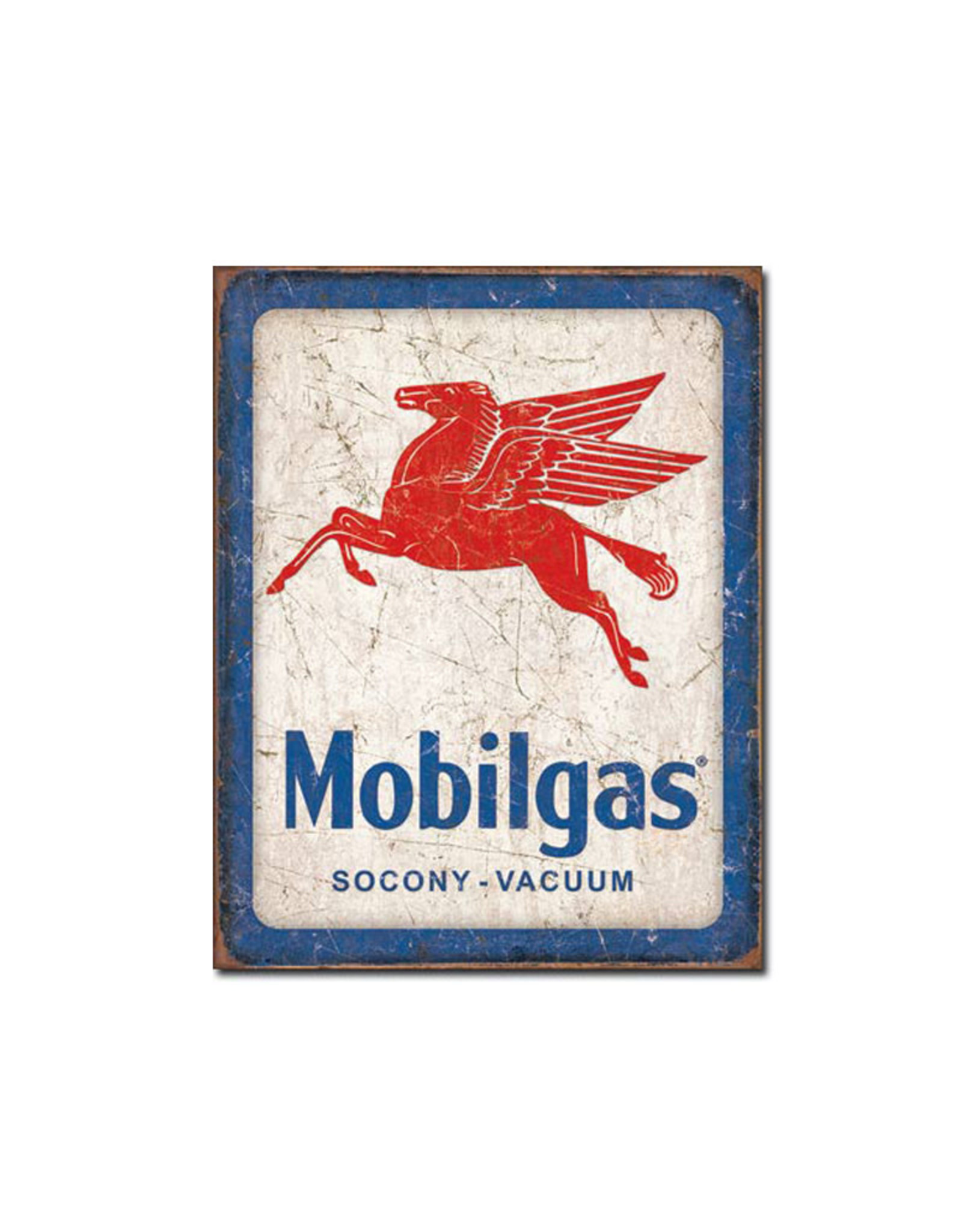 Mobilgas ( Metal Sign 12.5 X 16 ) )