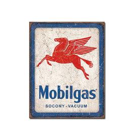 Mobilgas ( Metal Sign 12.5 X 16 )